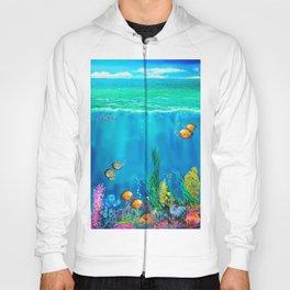 Undersea with Nautilus Hoody