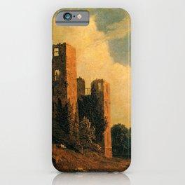 Sanford Robinson Gifford - Kenilworth Castle iPhone Case