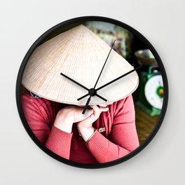 Nón Lá Wall Clock