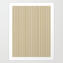 Copper Striping Art Print