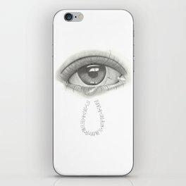 Are You Sad? iPhone Skin