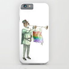 Rainbow Cat with Horn iPhone 6s Slim Case