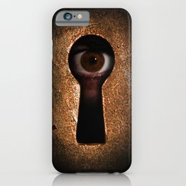 Who is watching you? iPhone Case
