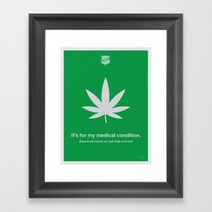 Medical Condition Framed Art Print