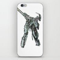 metal gear iPhone & iPod Skins featuring Metal Gear Solid LS  by Hisham Al Riyami