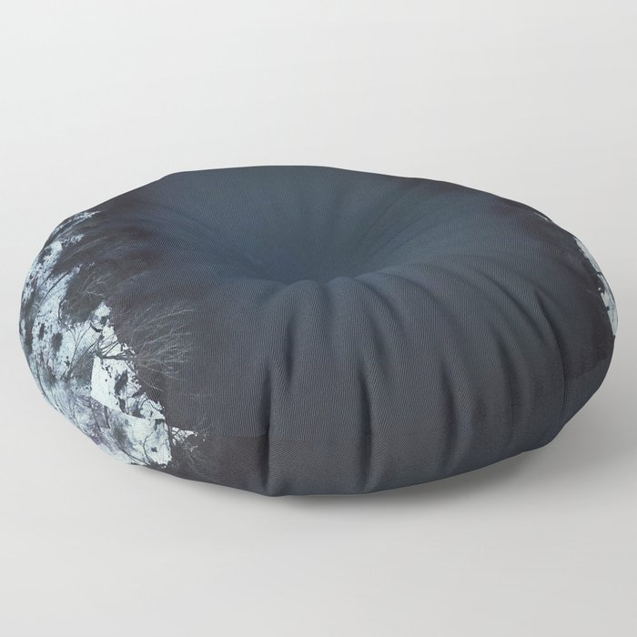 Lone Winter Kayak Floor Pillow