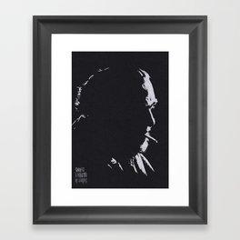 Buk Framed Art Print