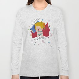 The true stroy of Sleeping Beauty / La verdadera historia de la Bella durmiente Long Sleeve T-shirt