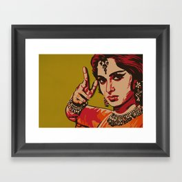 Bollywood Style Framed Art Print
