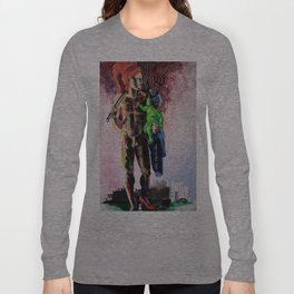 Hermaphrodite with a child Long Sleeve T-shirt