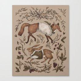 Tricksters Canvas Print