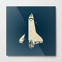 The Shuttle Metal Print