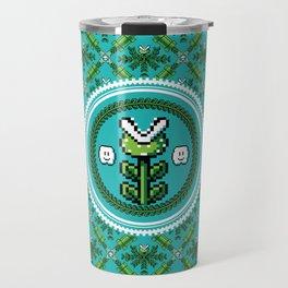 8bit Deco Travel Mug