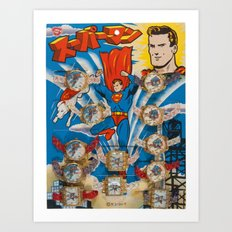 time for a hero Art Print