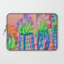 Flowers at Dawn Laptop Sleeve