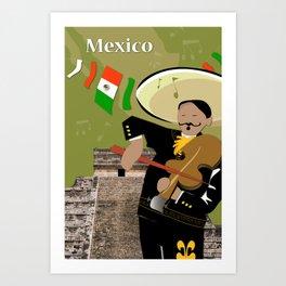 Hispanic Heritage Series - Mariachi Art Print