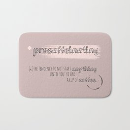 procaffeinating Bath Mat