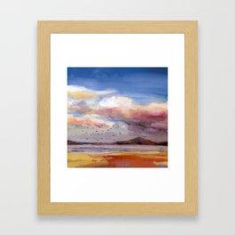 Il mare d'inverno Framed Art Print