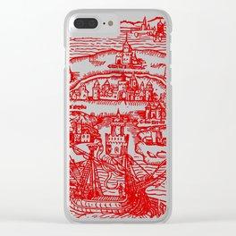 New Island Utopia Clear iPhone Case