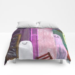 ghost house Comforters