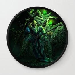 Odin and his loyal beasts Wall Clock