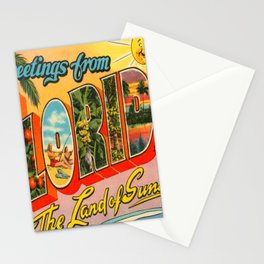 Greetings From Florida Stationery Cards