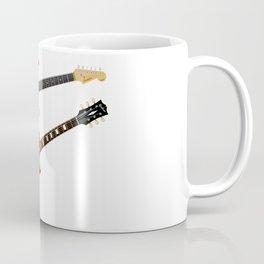 Red Elecric Guitars Coffee Mug