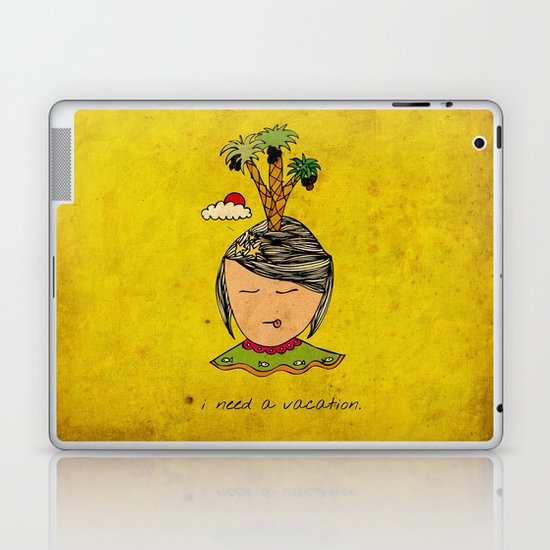 I Need A Vacation Laptop & iPad Skin