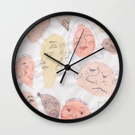 One Big Family Wall Clock
