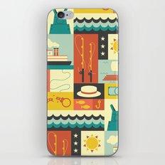 Huckleberry Finn iPhone & iPod Skin