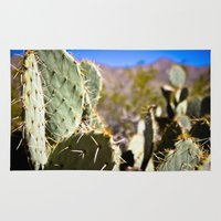 cacti Area & Throw Rugs featuring Cacti by Nick Duarte