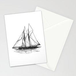 Vintage Yacht Stationery Cards