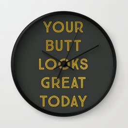 Great Today Wall Clock