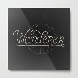 Wanderer Metal Print