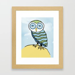 AL the Owl Framed Art Print