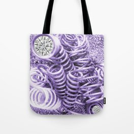 Lilac Industrial Composition Tote Bag