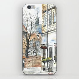 The Warsaw Barbican Poland iPhone Skin