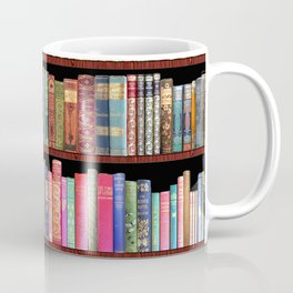 Vintage books ft Jane Austen & more Coffee Mug