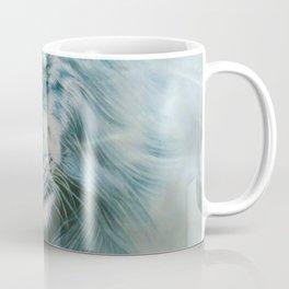 Lion Under Water Coffee Mug