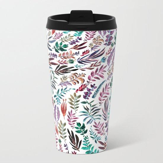 nature colors Metal Travel Mug
