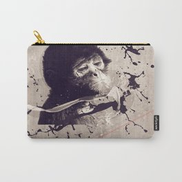 SAD MONKEY Carry-All Pouch