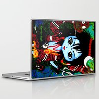 shiva Laptop & iPad Skins featuring Baby Shiva by Manvee Singh