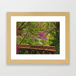 Biltmore Garden Wall Framed Art Print