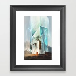 The Crystal-Flesh Hermitage Framed Art Print