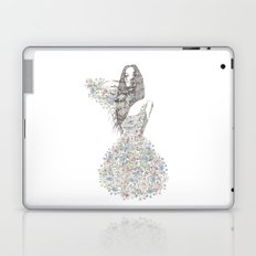 Flower Girl - pattern Laptop & iPad Skin