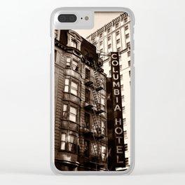 Columbia Hotel, San Francisco, CA-II Clear iPhone Case