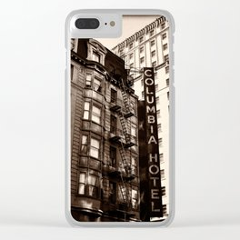 Columbia Hotel, San Francisco, CA-II Clear iPhone Case
