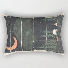 Wish I Was Camping... Rectangular Pillow