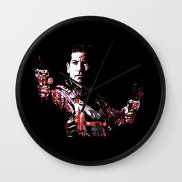 Jon Bernthal's Punisher Portrait pop Wall Clock