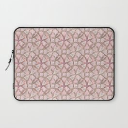 copper circles with flower 02 Laptop Sleeve